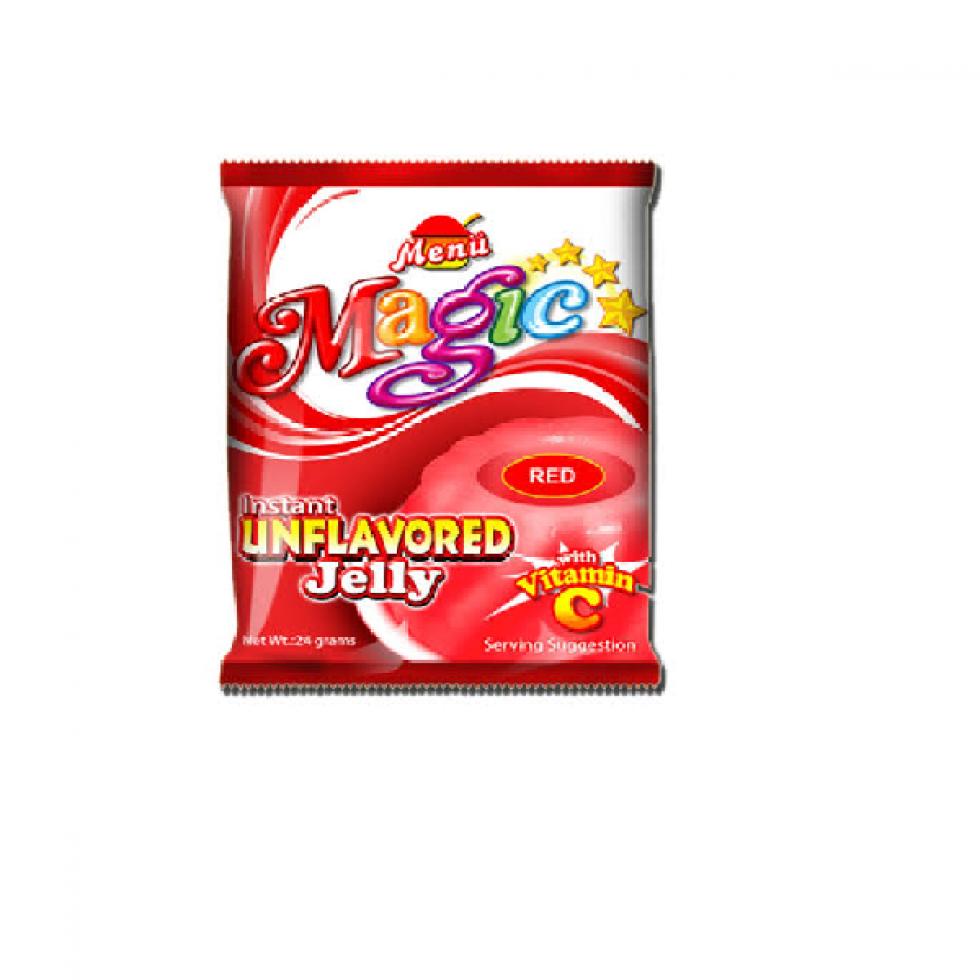 MENU MAGIC JELLY RED 24G