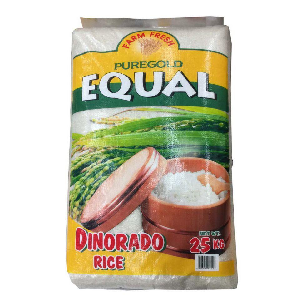 EQUAL DINORADO RICE 25KG