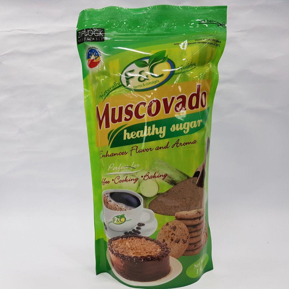 MUSCOVADO RAW SUGAR 1KG