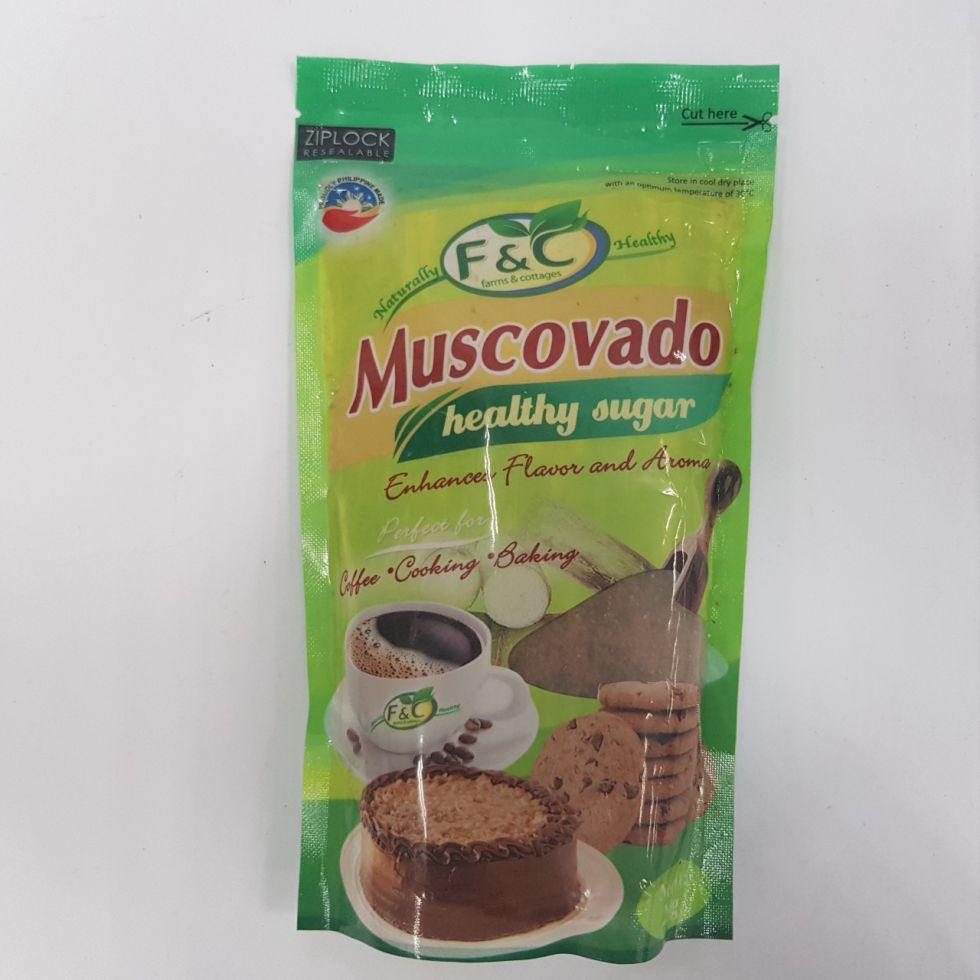 MUSCOVADO RAW SUGAR 1/4KG
