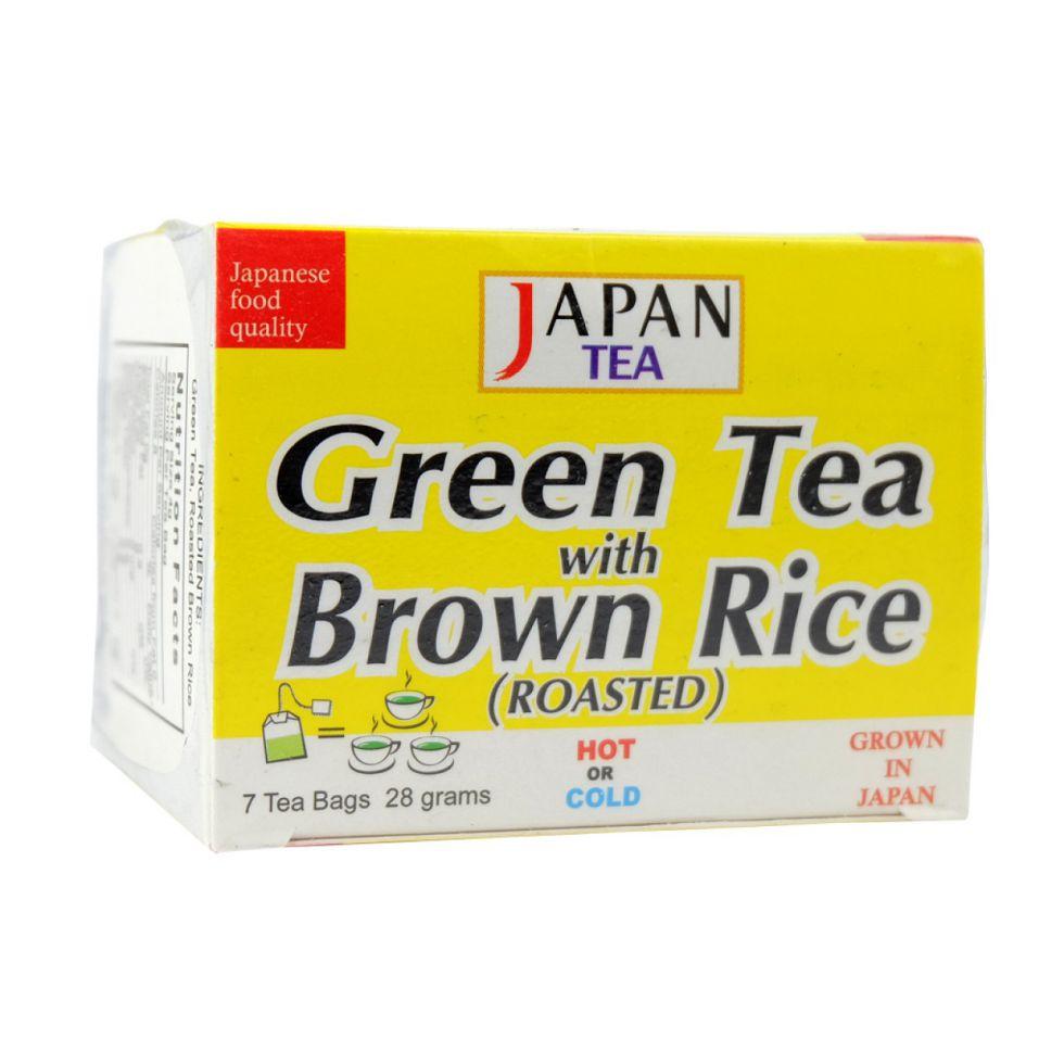 SUPER TEA GREEN TEA W/BRWN RCE
