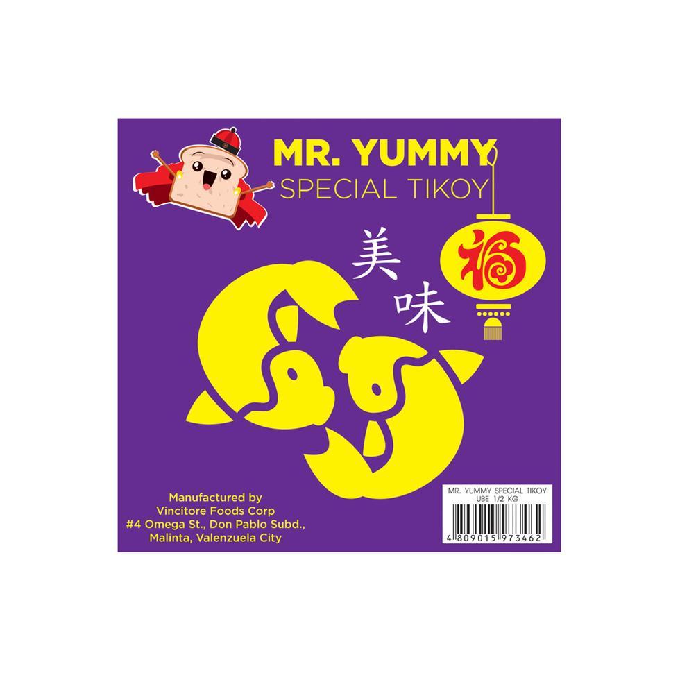 MR.YUMMY TIKOY 1/2KG UBE
