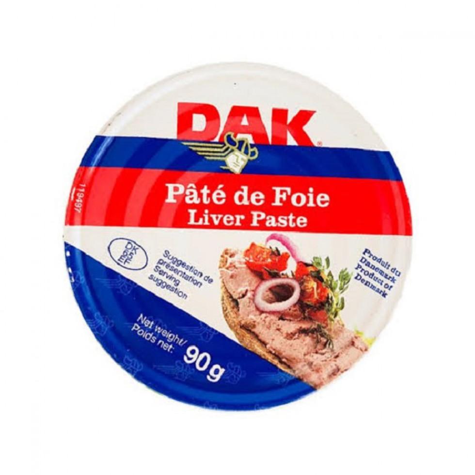 DAK PATE DE FOIE LVR SPRD 90G