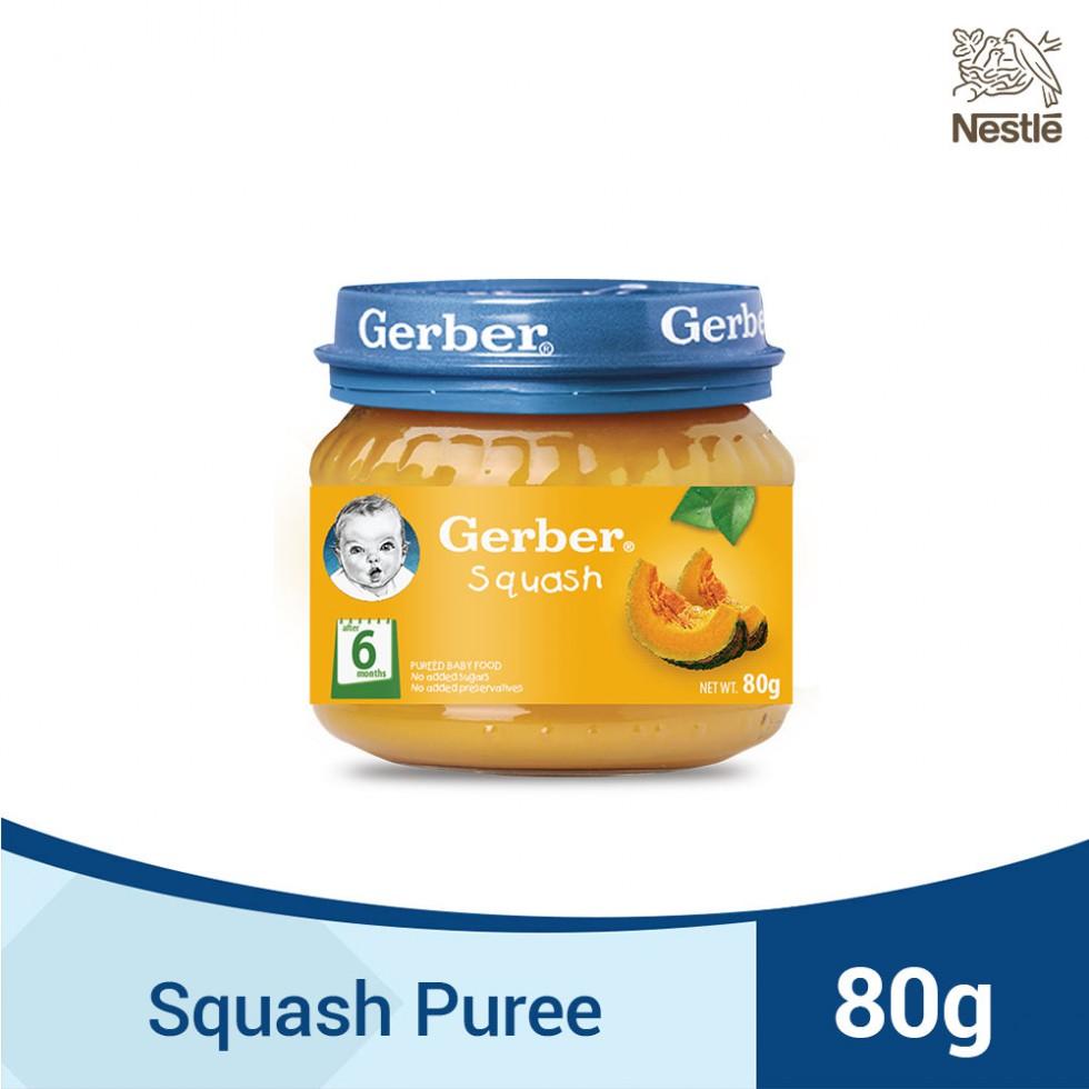GERBER 1ST FOODS SQUASH 80G