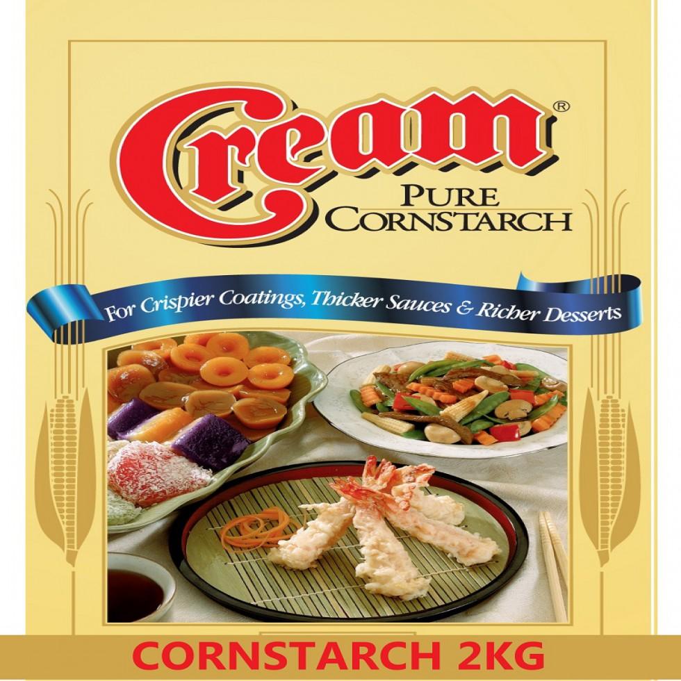 CREAM CORN STARCH 2KG