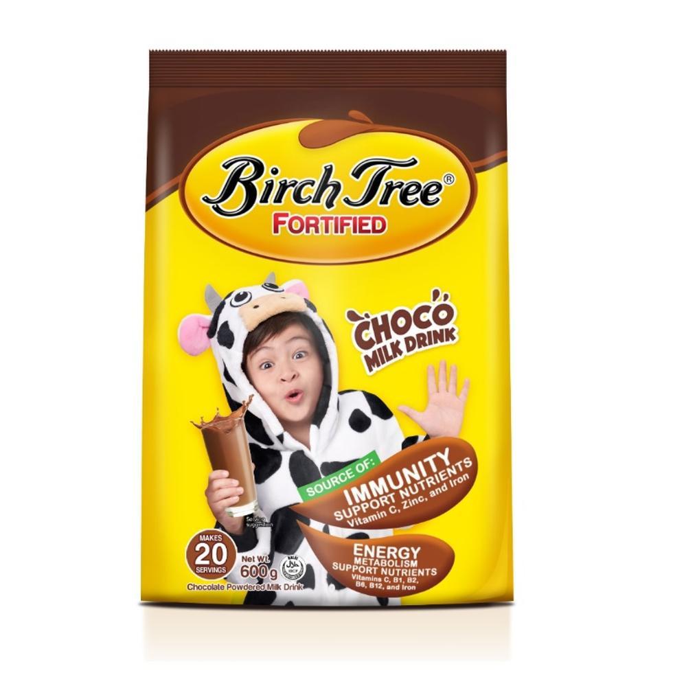 BIRCH TREE FORTIFIED CHOCO600G