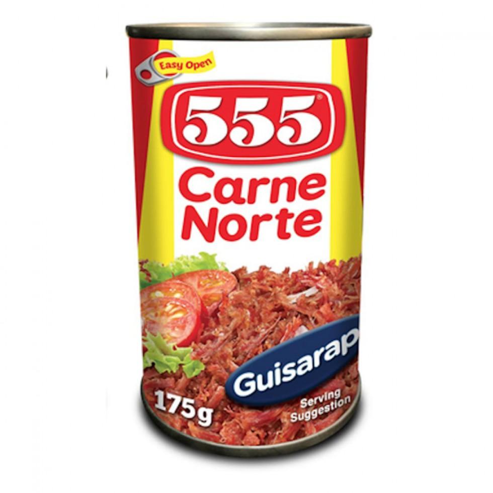 555 CARNE NORTE 175G  EOE