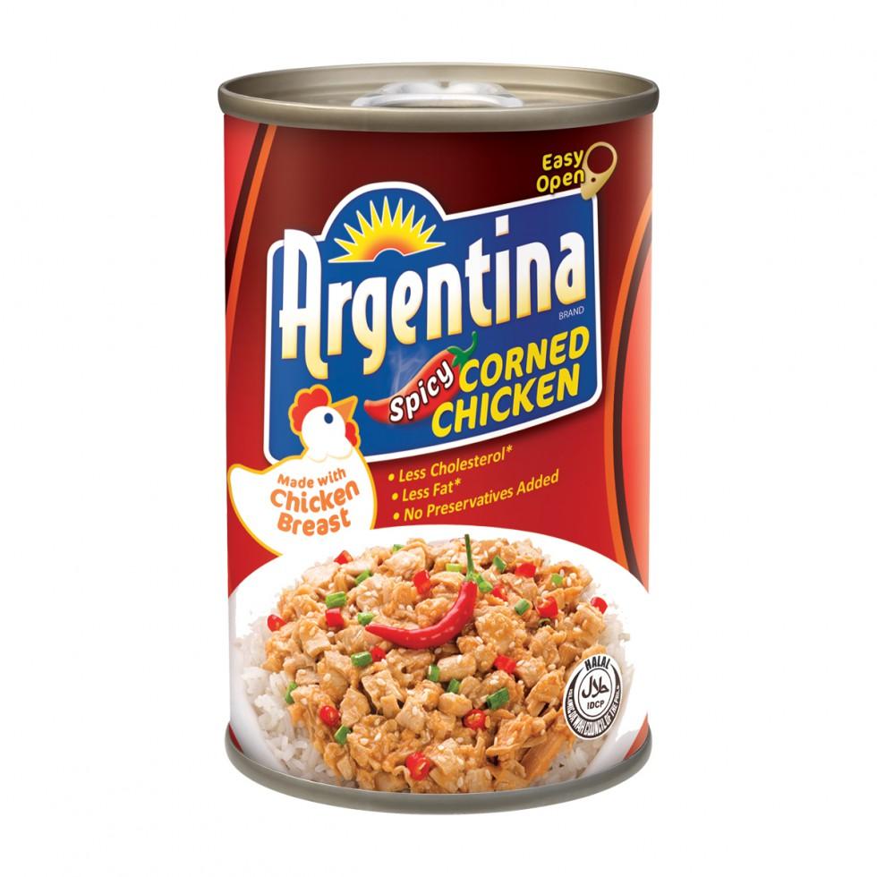 ARGENTINA CORNED CKN SPICY150G