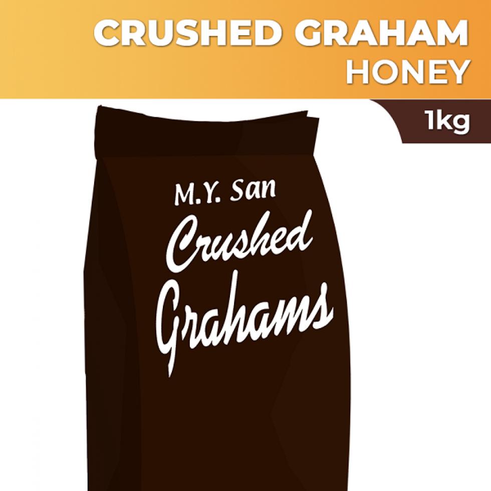 MY SAN HONEYCRUSHED GRAHAMS1KG