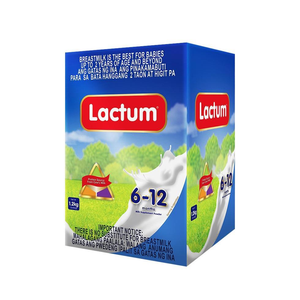 LACTUM 6-12 PLAIN FON 1.2KGBIB