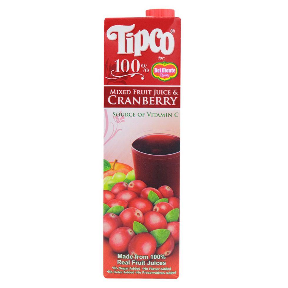 TIPCO CRANBERRY JUICE 1L