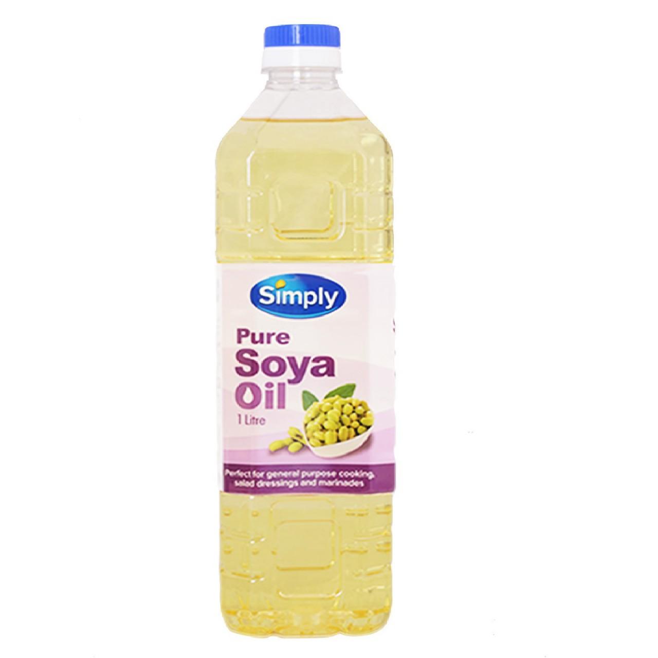 SIMPLY SOYA OIL 1L