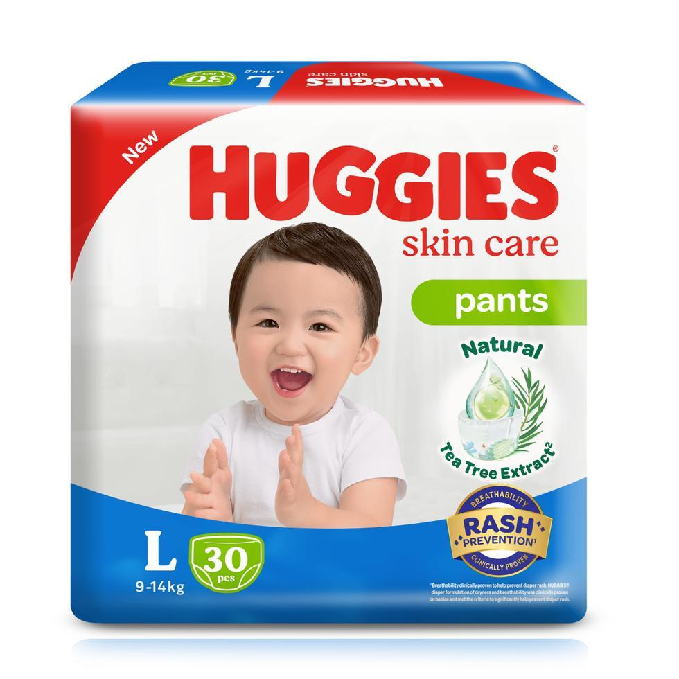 HUGGIES DRY PANTS L ECO 30S