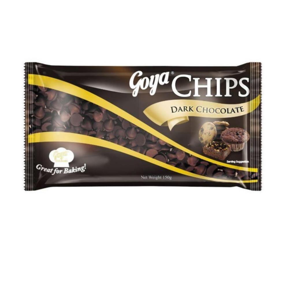 GOYA CHIPS DARK CHOCOLATE 150G