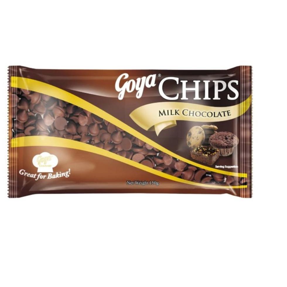 GOYA CHIPS MILK CHOCOLATE 150G