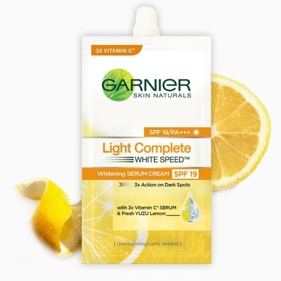 GARNIER LIGHT CRM MOIST 7ML 3S