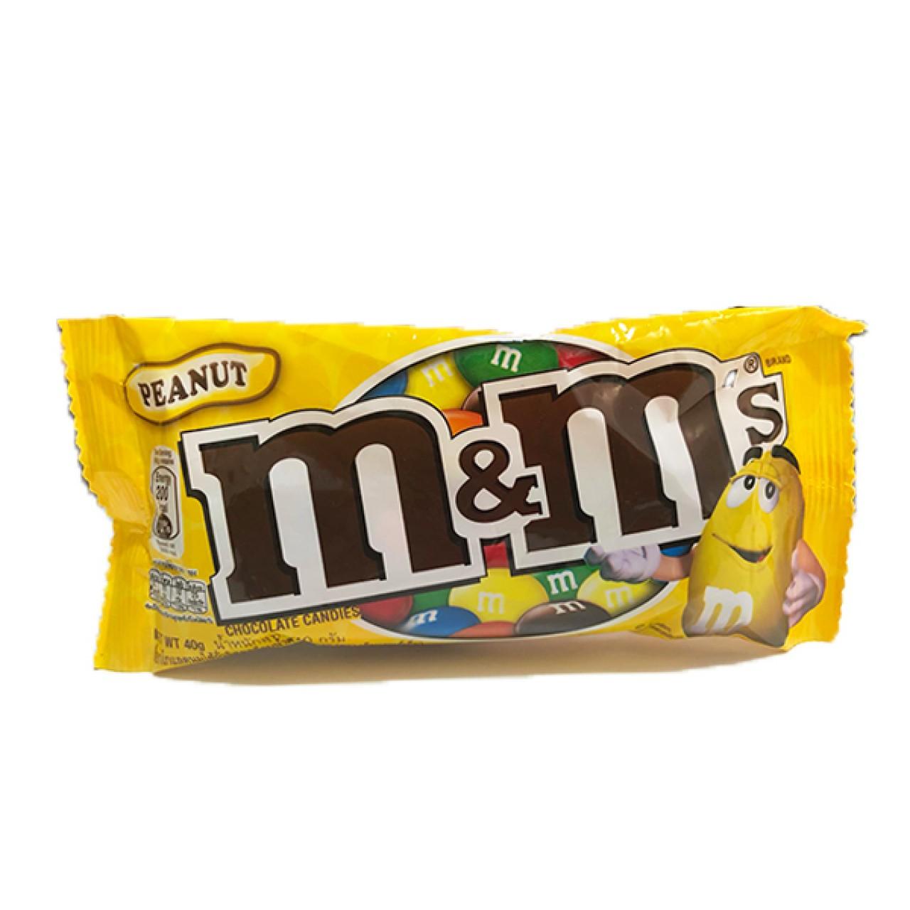 M&M PEANUT SINGLES 37G