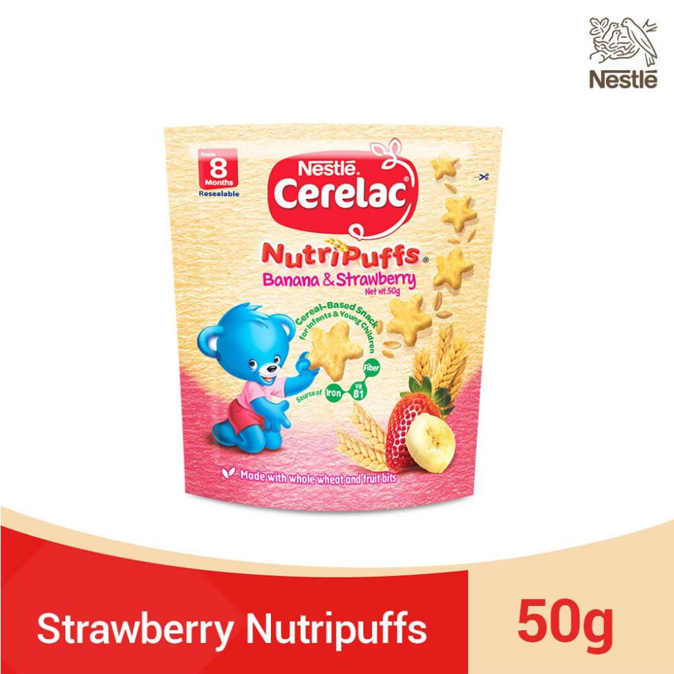 CERELAC NUTRIPUFFS BAN&STR 50G