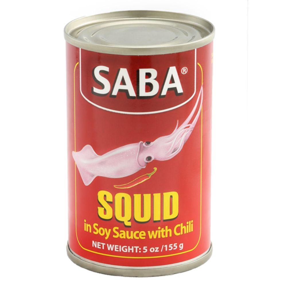 SABA SQUID SOY SCE CHILI 155G