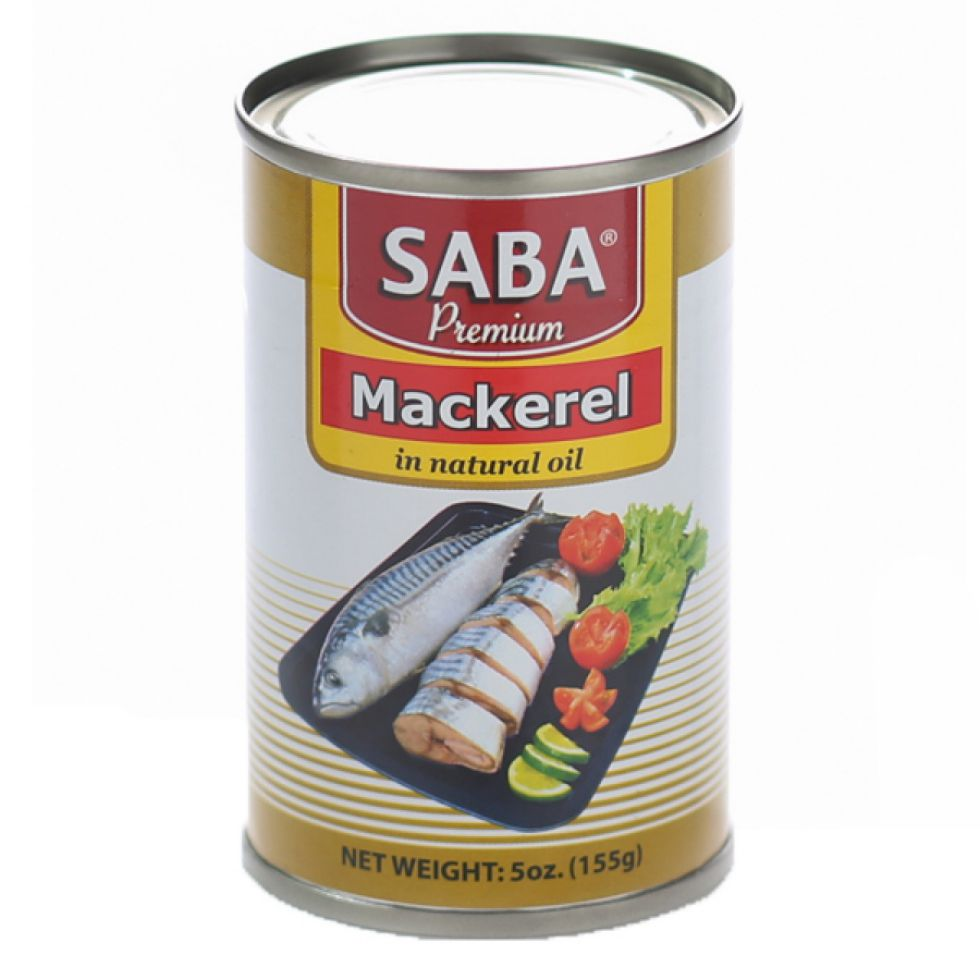SABA PREM MACKEREL N O 155G